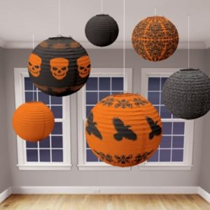 lanternor-halloween-orange-svart
