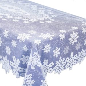bordsduk-snowflake-lace