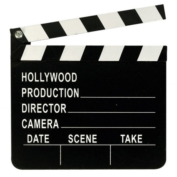 Filmklappa-Hollywood