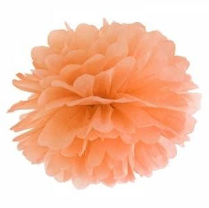 pom pom-orange 35 cm