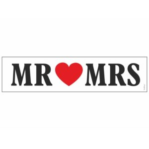 Bilskylt-Mr-o-Mrs