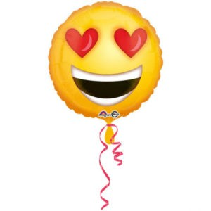 ballong love emoticon