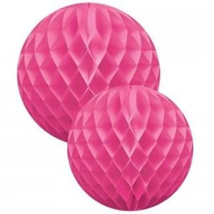 Honeycombs bollar Cerise Set