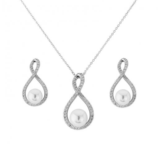 Halsband Set Cubic Zirconia Collection