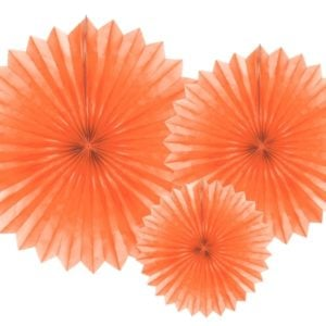 Cirkeldekor Orange 20-40 cm