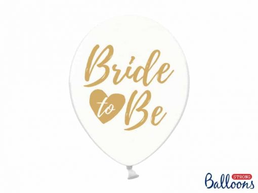Ballong -Bride to be-Crystal clear