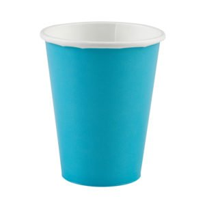 pappersmugg caribbean blue