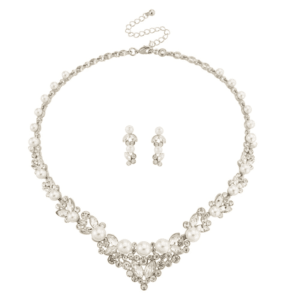 Chic Pearl Halsband Set