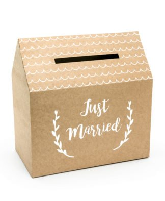 Kuvertbox -Just Married-
